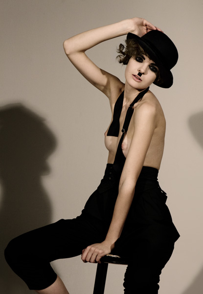 Dimitra Altani Charlie Chaplin Makeup For Fashiontrend