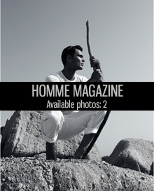 homme magazine makeup